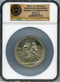 Expositions and Fairs, 1893 World's Columbian Exposition, Esposizione Universale,Eglit-37, MS62 Prooflike NGC. ...