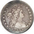 Early Dollars: , 1796 $1 Small Date, Large Letters XF40 NGC. B-4, BB-61, R.3.Incorrectly designated by NGC as...