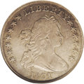 Early Dollars: , 1801 $1 VF30 NGC. B-3, BB-213, R.3. This is the third use of theso-called 1801 Wide Date obv...