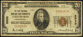 National Bank Notes:Pennsylvania, Fleetwood, PA - $20 1929 Ty. 1 The First NB & TC Ch. # 8939....