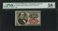 Fractional Currency:Fifth Issue, Fr. 1309 25¢ Fifth Issue PMG Choice About Unc 58 EPQ.. ...