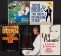 Miscellaneous Collectibles:General, Entertainers Signed Hardcover Books Lot of 5....
