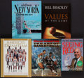 Basketball Collectibles:Publications, Basketball Greats Signed Books Lot of 5....