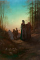 Gustave Doré (French, 1832-1883) Lorraine, 1869 Oil on canvas 77 x 51-1/2 inches (195.6 x 130.8 cm) Signed and da...