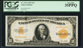 Large Size:Gold Certificates, Fr. 1173a $10 1922 Gold Certificate PCGS Very Fine 35PPQ.. ...
