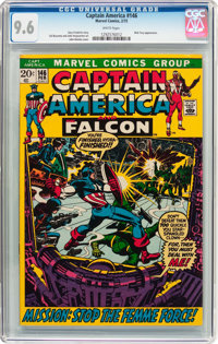 Captain America #146 (Marvel, 1972) CGC NM+ 9.6 White pages