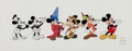 Animation Art:Seriograph, Mickey Through The Years Mickey Mouse Limited EditionSerigraph (Walt Disney, 1993)....