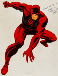 MMMS/Marvelmania Daredevil Commercial Product Production Art Group of 2 (Marvel, c. 1966).... (Total: 2 Items)