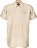 Baseball Collectibles:Uniforms, 1904 Christy Mathewson Game Worn New York Giants Jersey.. ...
