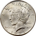 Peace Dollars, 1935-S $1 MS66+ PCGS. CAC....