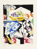 Prints, Jacob Lawrence (American, 1917-2000). Morning Still Life, 1976. Lithograph in colors on Arches paper. 23-3/4 x 17-3/4 in...