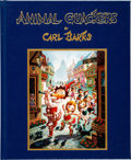 Memorabilia:Miscellaneous, Carl Barks Animal Quackers Limited Edition Book with Signed Litho Print #66/100 (Gemstone, 1996)....