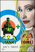 "Movie Posters:Action, Tank Girl (United Artists, 1995). One Sheets (2) (27"" X 41"") SSRegular & Advance, & Mini Promo Posters (4) (11.5"" X 16"").A... (Total: 6 Items)"