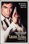 "Movie Posters:James Bond, Licence to Kill (United Artists, 1989). One Sheet (27"" X 41"") Advance. James Bond.. ..."