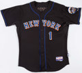 Baseball Collectibles:Uniforms, 2007 Luis Castillo Game Worn New York Mets Jersey. ...