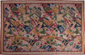 Rugs & Textiles:Tapestries, A French Art Deco Aubusson-Style Wool Tapestry, circa 1930. 70-1/2 h x 108-1/2 w inches (179.1 x 275.6 cm). ...