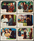 """Movie Posters:Mystery, Lured (United Artists, 1947). Lobby Cards (6) (11"""" X 14""""). Mystery.. ... (Total: 6 Items)"""