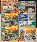 "Movie Posters:Animation, Snow White and the Seven Dwarfs & Others Lot (Rank, R-1960s).Mexican Lobby Cards (10) (14.25"" X 11.75"", 16.25"" X 12.25"" &a... (Total: 10 Items)"