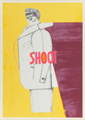 Prints, Richard Lindner (American, 1901-1978). Untitled, from the Shoot series, 1971. Screenprint in colors on wove paper. 4...