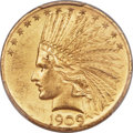 United States, United States: Republic gold 10 Dollars 1909 MS63 PCGS,...