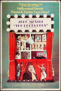 """The Producers (Embassy, 1967). Poster (40"""" X 60""""). Comedy"""