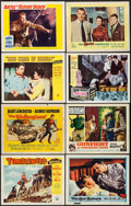 """Movie Posters:Western, Tumbleweed & Others Lot (Universal International, 1953). Lobby Cards (88) (11"""" X 14""""). Western.. ... (Total: 88 Items)"""