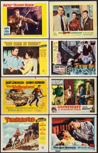 """Tumbleweed & Others Lot (Universal International, 1953). Lobby Cards (88) (11"""" X 14""""). Western. ... (Total..."""