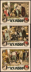 "Movie Posters:Action, The Ice Flood (Universal, 1926). Lobby Cards (3) (11"" X 14"").Action.. ... (Total: 3 Items)"