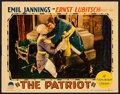 "Movie Posters:War, The Patriot (Paramount, 1928). Linen Finish Lobby Card (11"" X 14"").War.. ..."
