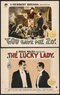 """Movie Posters:Drama, The Lucky Lady & Other Lot (Paramount, 1926). Lobby Cards (2) (11"""" X 14""""). Drama.. ... (Total: 2 Items)"""