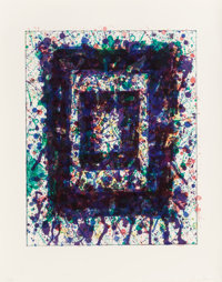 Sam Francis (American, 1923-1994) Concert Hall Set III (SF-232), 1977 Lithograph in colors on Rives