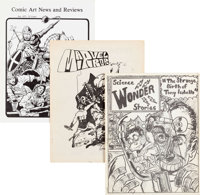 Comic Fanzine Group of 18 (1968-75) Average Condition: VG/FN.... (Total: 18 Items)