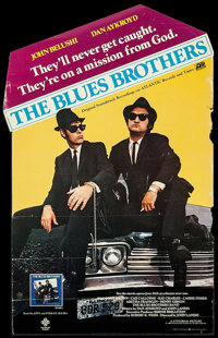 "The Blues Brothers (Atlantic Records, 1980). Original Soundtrack Album Poster (14.5"" X 23.5""). Comedy"