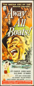 """Movie Posters:War, Away All Boats (Universal International, 1956). Inserts (2)(Identical) (14"""" X 36""""). War.. ... (Total: 2 Items)"""