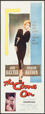 """The Come On (Allied Artists, 1956). Inserts (3) (Identical) (14"""" X 36""""). Film Noir. ... (Total: 3 Items)"""