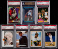 Basketball Cards:Lots, 1981-2003 Baseball & Basketball Graded Collection (7)....