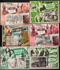 "Movie Posters:Adventure, Tarzan Finds a Son & Others Lot (MGM, R-1950s). Mexican LobbyCards (10) (11.5"" X 14.5"" & approx 12.5"" X 16.5"").Adventure.... (Total: 10 Items)"