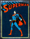 """Movie Posters:Action, Superman (National Periodical Publications, 1975). Mylar Poster(19"""" X 25""""). Action.. ..."""