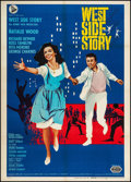 "Movie Posters:Academy Award Winners, West Side Story (United Artists, R-1966). Italian 2 - Fogli (39"" X55""). Academy Award Winners.. ..."