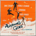 "Movie Posters:Musical, Anything Goes & Others Lot (Paramount, 1956). Six Sheet (78"" X 77""), One Sheets (6) (27"" X 41""), & Three Sheet (41"" X 79""). ... (Total: 8 Items)"