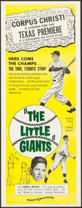 "Movie Posters:Sports, The Little Giants (Continental, 1961). Insert (14"" X 36""). Sports.. ..."
