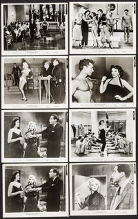 """Gentlemen Prefer Blondes (20th Century Fox, 1953). Photos (8) (approx. 8"""" X 10""""). Musical. ... (Total: 8 Items..."""