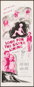 "Movie Posters:Musical, Look for the Silver Lining (Dominant, R-1965). Inserts (4) Identical (14"" X 36""). Musical.. ... (Total: 4 Items)"