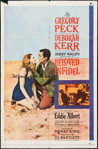 """Beloved Infidel & Others Lot (20th Century Fox, 1959). One Sheets (16) (27"""" X 41""""), Three Sheets (2) (appr..."""
