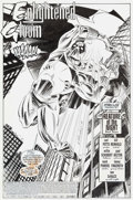 Original Comic Art:Splash Pages, Bill Reinhold The Prowler #1 Splash Page 1 Original Art(Marvel, 1994)....