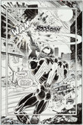 Original Comic Art:Splash Pages, Liam Sharp and Bill Reinhold Venom: The Mace #3 Splash Page11 Original Art (Marvel, 1994)....