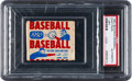 Baseball Cards:Unopened Packs/Display Boxes, Unopened 1950 Bowman Baseball 1-Cent Wax Pack (PSA Authentic). ...