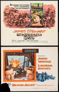 "Movie Posters:Action, Blood Alley & Others Lot (Warner Brothers, 1955). Half Sheets(8) (22"" X 28""). Action.. ... (Total: 8 Items)"
