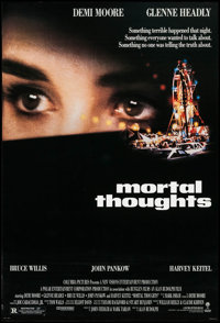 "Mortal Thoughts (Columbia, 1991). One Sheets (48) Identical (26.75"" X 39.75"") DS. Thriller. ... (Total: 48 Ite..."