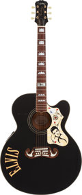 Musical Instruments:Acoustic Guitars, Elvis Presley Limited Edition Epiphone EJ-200E Guitar....